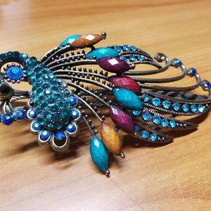 Accessories - Peacock Hair Clip